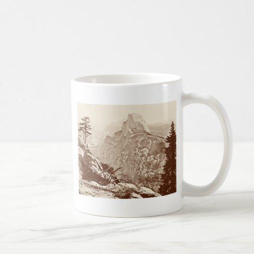 Vintage Yosemite National Park Mug