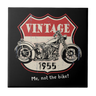 Vintage (Your Year or Name) Ceramic Tile