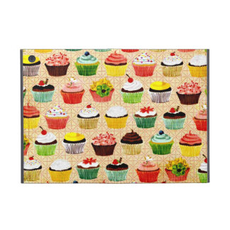 Vintage Yummy Cupcakes iPad Mini Covers