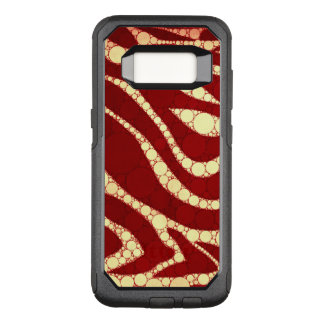 Vintage Zebra Abstract OtterBox Commuter Samsung Galaxy S8 Case