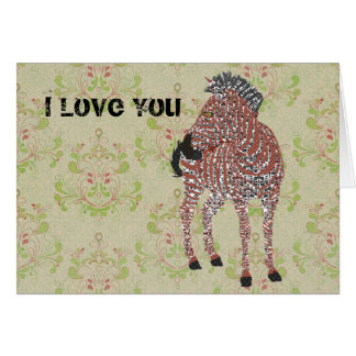 Vintage Zenya Valentine Greeting Card