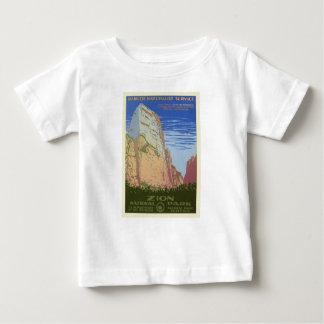 Vintage Zion Park Baby T-Shirt
