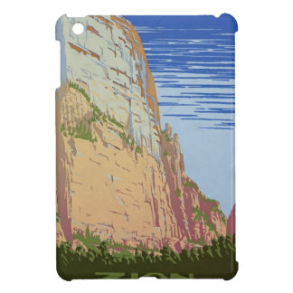 Vintage Zion Park iPad Mini Cover