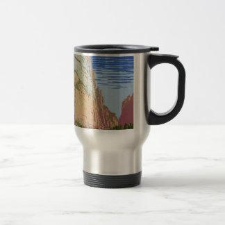 Vintage Zion Park Travel Mug