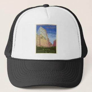 Vintage Zion Park Trucker Hat