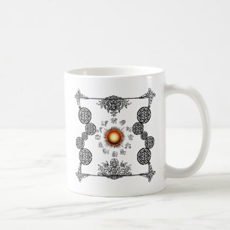 Vintage Zodiac Art Deco Design Coffee Mug