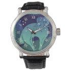 Vintage Zodiac, Astrology Aries Ram Constellation Watch