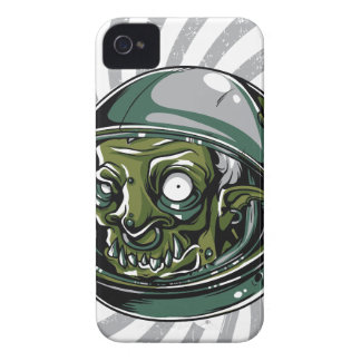 vintage zombie scary face Case-Mate iPhone 4 cases