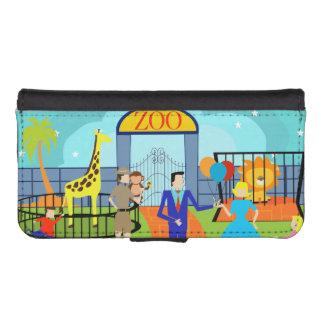 Vintage Zoo Smartphone Wallet Case