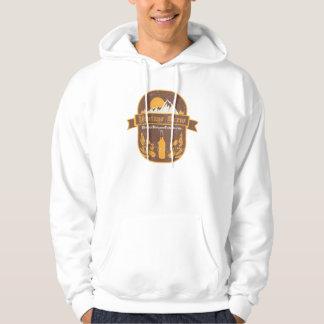 VintageBrew.ai Hooded Sweatshirt