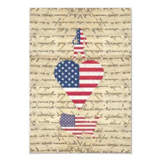 VintageI heart America Card