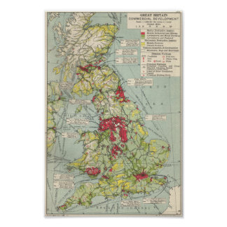 VintagePoster:Great Britain Commercial Development Poster