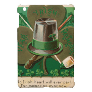 VintageSaint Patrick's day shamrock erin go bragh iPad Mini Covers