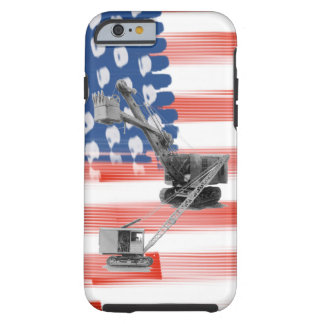 Vintgage Crane Operator Northwest Crane And Shovel Tough iPhone 6 Case