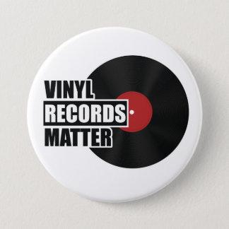 Viny Records Matter Button