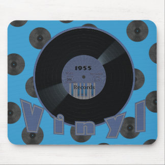 VINYL 33 RPM Record 1955 Label 2 Mouse Pad