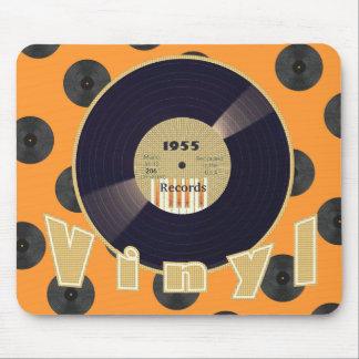 VINYL 33 RPM Record 1955 Label 3 Mousepad