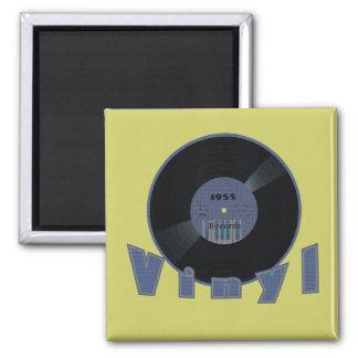 VINYL 33 RPM Record 1955 Label Magnets