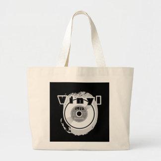 VINYL 45 RPM Record 1973 Jumbo Tote Bag