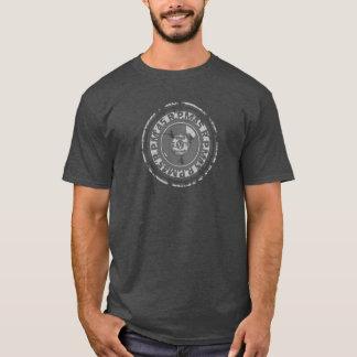 Vinyl - 45 rpm Record -Black & Grey Worn Look T-Shirt