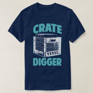 Vinyl Addict Junkie Crate Digger DJ Humor T-Shirt
