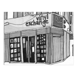 Vinyl Exchange Manchester Postcard
