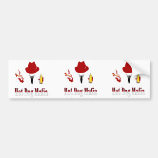 Vinyl Hot Dog Mafia Sticker (3 Pack)