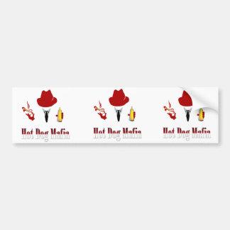 Vinyl Hot Dog Mafia Sticker (3 Pack)