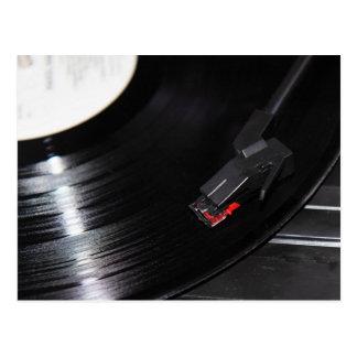 Vinyl is not dead postcard