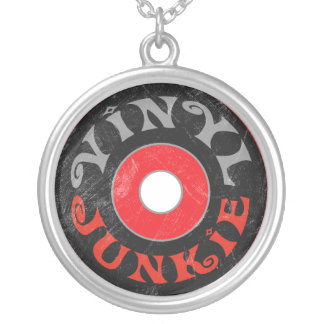 Vinyl Junkie Pendant