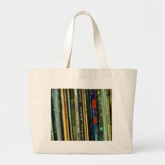 Vinyl Life 1 Large Tote Bag