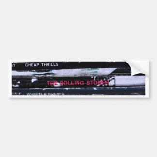 Vinyl Life 3 Bumper Sticker