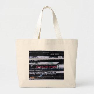 Vinyl Life 3 Large Tote Bag