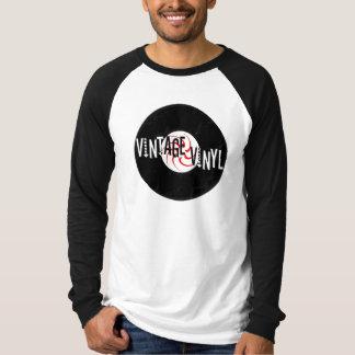 Vinyl Logo - Vintage Long Sleeve T-Shirt