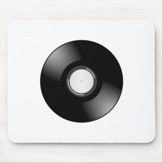 Vinyl Record by Chillee Wilson Mouse Pad