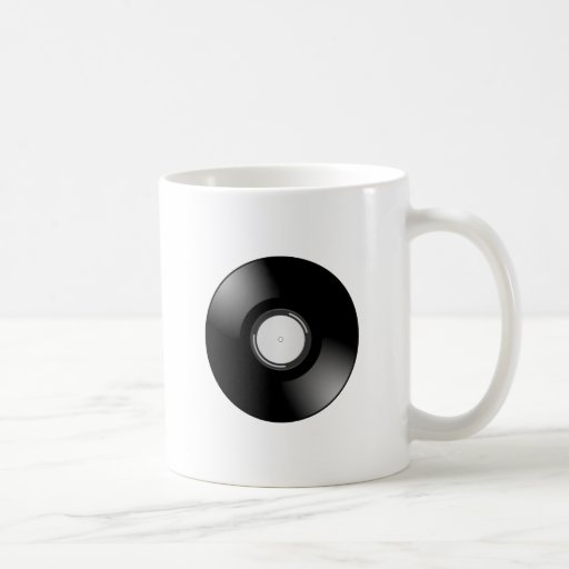 Vinyl Record by Chillee Wilson Coffee Mugs