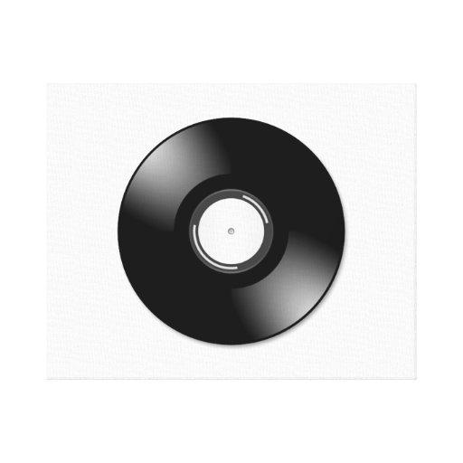 Vinyl Record Canvas Prints