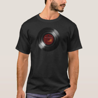vinyl record customizable T-Shirt