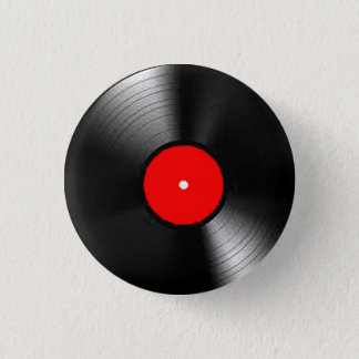 """""""Vinyl Record"""" gifts and products 3 Cm Round Badge"""