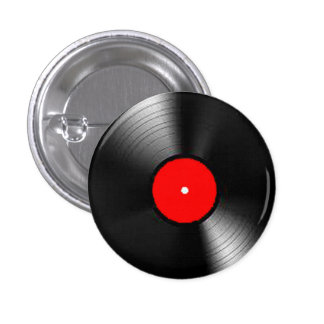 """Vinyl Record"" gifts and products 3 Cm Round Badge"
