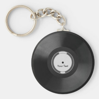 Vinyl.Record Key Ring