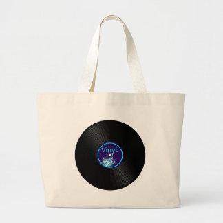 Vinyl Record LP Album 33 Jumbo Tote Bag