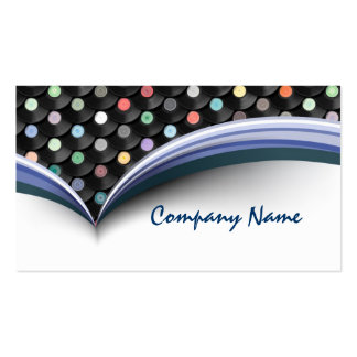 Vinyl Record Recording Studio Business Card