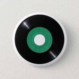 Vinyl record transparent PNG 6 Cm Round Badge