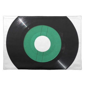 Vinyl record transparent PNG Placemat