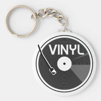 Vinyl Record Turntable Key Ring