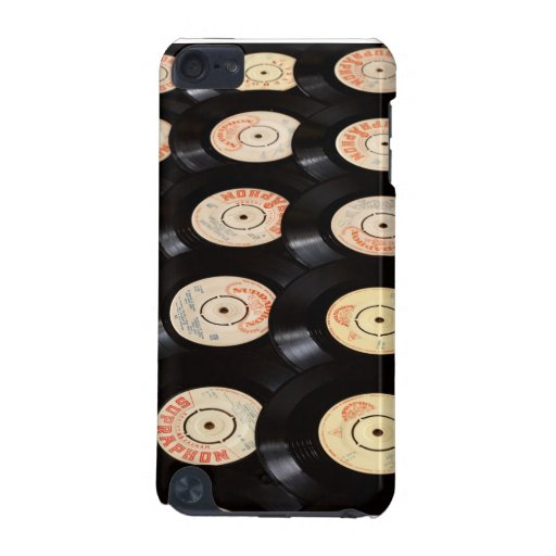 Vinyl Records Background iPod Touch (5th Generation) Covers