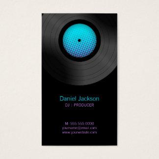 Vinyl Records DJ Music Store business cards