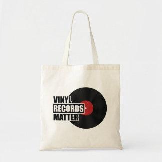 Vinyl Records Matter Tote