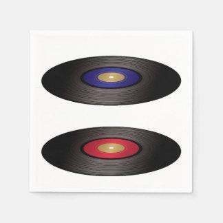Vinyl Records Paper Napkins Paper Napkin